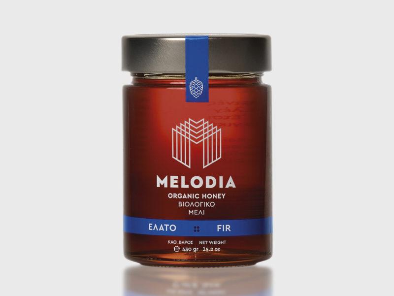 Βραβευμένο Βιολογικό μελι κοκκινου Ελάτου